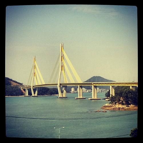 Bridge to Geogeum Island #gwangju600k #g600 #korearandonneurs #geogeumisland #거금도