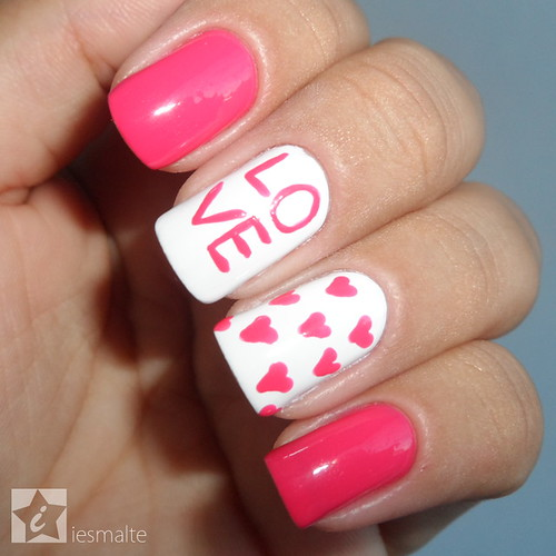 Unhas Decoradas - Love