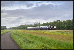 11-05-2014, Haarlemmerliede, Locon 1571 + NSB BM73009 (Koen langs de baan) Tags: