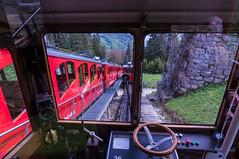 Pilatus Cogwheel Railway (Bephep2010) Tags: red alps rot schweiz switzerland sony luzern pilatus alpen lucerne ch steep nex cograilway zahnradbahn cograilroad obwalden kriens steil alpnachstad kantonluzern alpnach nex6 luzernervoralpen selp1650