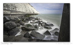 Incoming tide (Fred255 Photography) Tags: uk longexposure sea england seascape beach rock canon raw eastsussex saltdean haida llens ef1740mmf4lusm nd1000 10stops canoneos1dsmarkiii leeholder ©fred255photography2014