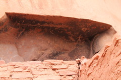 Cave Paintings 6 (mlckeeperkeeper) Tags: arizona southwest ruins honeymoon desert paintings sedona nativeamerican caves