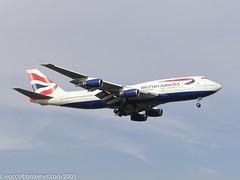 G-BNLA - 1989 build Boeing B747-436, aircraft withdrawn from use in 2009 & stored at Victorville, CA (egcc) Tags: 23908 727 b744 b747 b747400 b747436 ba baw boeing britishairways egll gbnla heathrow lhr lightroom london