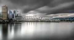 Canada Place (beelzebub2011) Tags: canada britishcolumbia vancouver downtown daytimelongexposure 10stopnd harbor burrardinlet he canadaplace