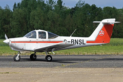 G-BNSL (QSY on-route) Tags: club fly 55 th aero in lincon sturgate egcs 04062011 gbnsl