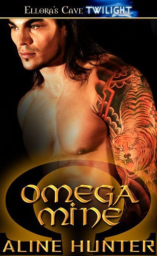 September 23rd 2011 by Ellora's Cave      Omega Mine (Alpha and Omega Shifters #1) by Aline Hunter  (aka J.A.Saare)