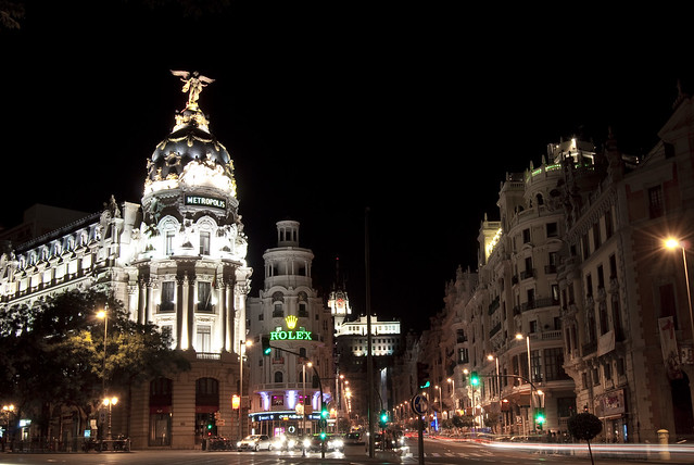 Saturday nigth. Madrid