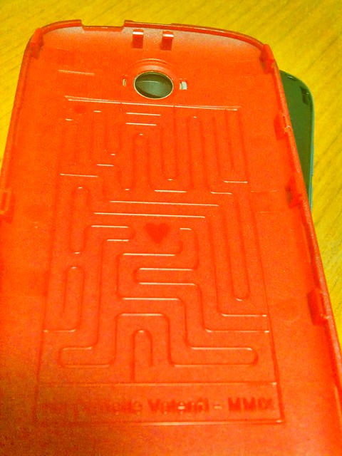 INQ phone moulding