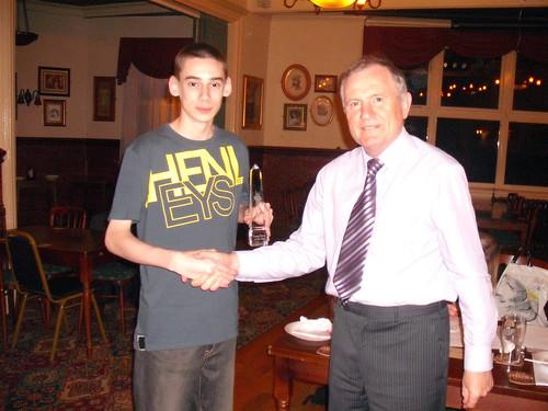 Young Player of the Season 2008/09 - Chris Mealor