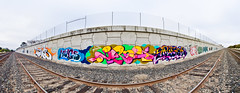 Mags, Jurne, Nesta (Jeffrey-Anthony) Tags: california graffiti traintracks yme bayarea nesta eastbay mags nr tfl twb osd tge jurne jurnes jeffreyanthony