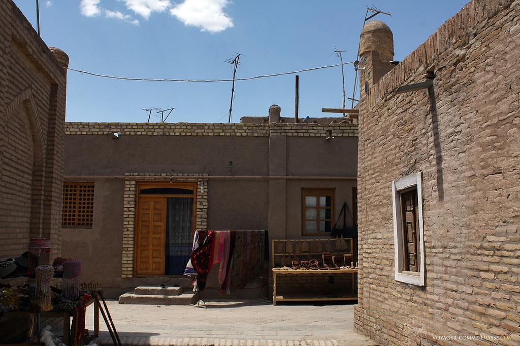 Rues de la ville-musée de Khiva