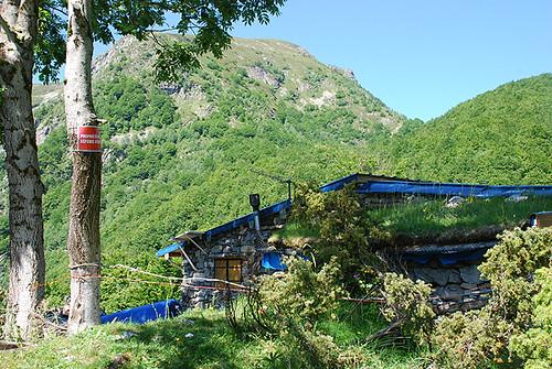 Sur les traces de Trutat : orri devenue cabane