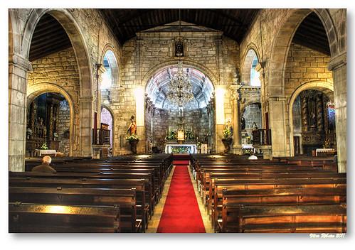 Interior da Igreja de Ponte Lima by VRfoto