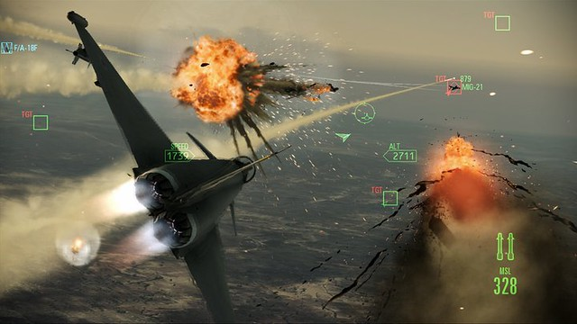 Ace Combat: Assault Horizon - Targets destroyed