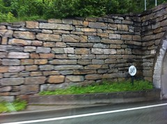 Large Scale Drystone Wall