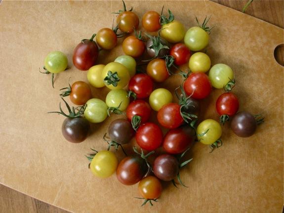 farmers market salad bruschetta 001