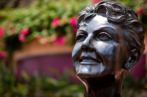 Angela Lansbury Bust by ssanders79