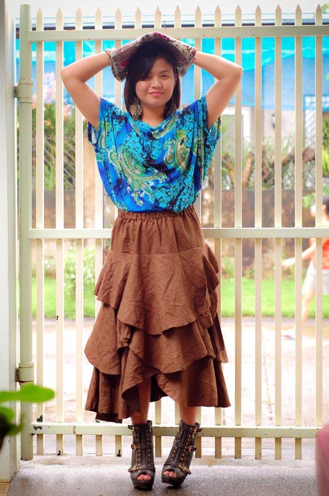 fluffy skirt