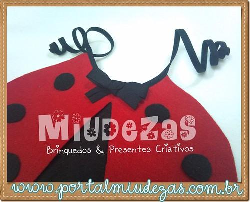 *Ü*Babadouro Joaninha by Miudezas*Ü* by miudezas_miudezas