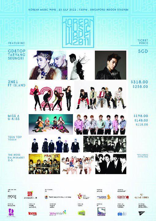 NEWS] Korean Music Wave 2011 « Scanation Singapore