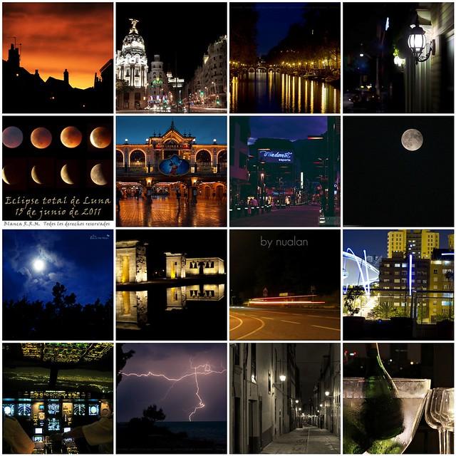 Mosaico Fotos nocturnas
