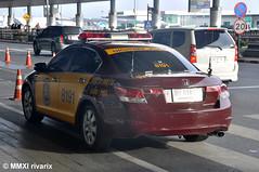 Royal Thai Police - Highway Police (rivarix) Tags: policecar cruiser policevehicle royalthaipolice hondaaccordpolicecar nationalpoliceofthailand thaihighwaypolice