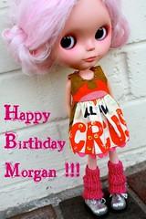 181/365   HAPPY BIRTHDAY MORGAN!!!