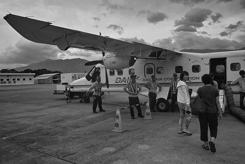 飛往蘭嶼的飛機