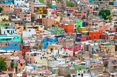 Colorful Homes of Guanajuato Mexico (IRainyDays) Tags: mexico guanajuato colorfulhomes