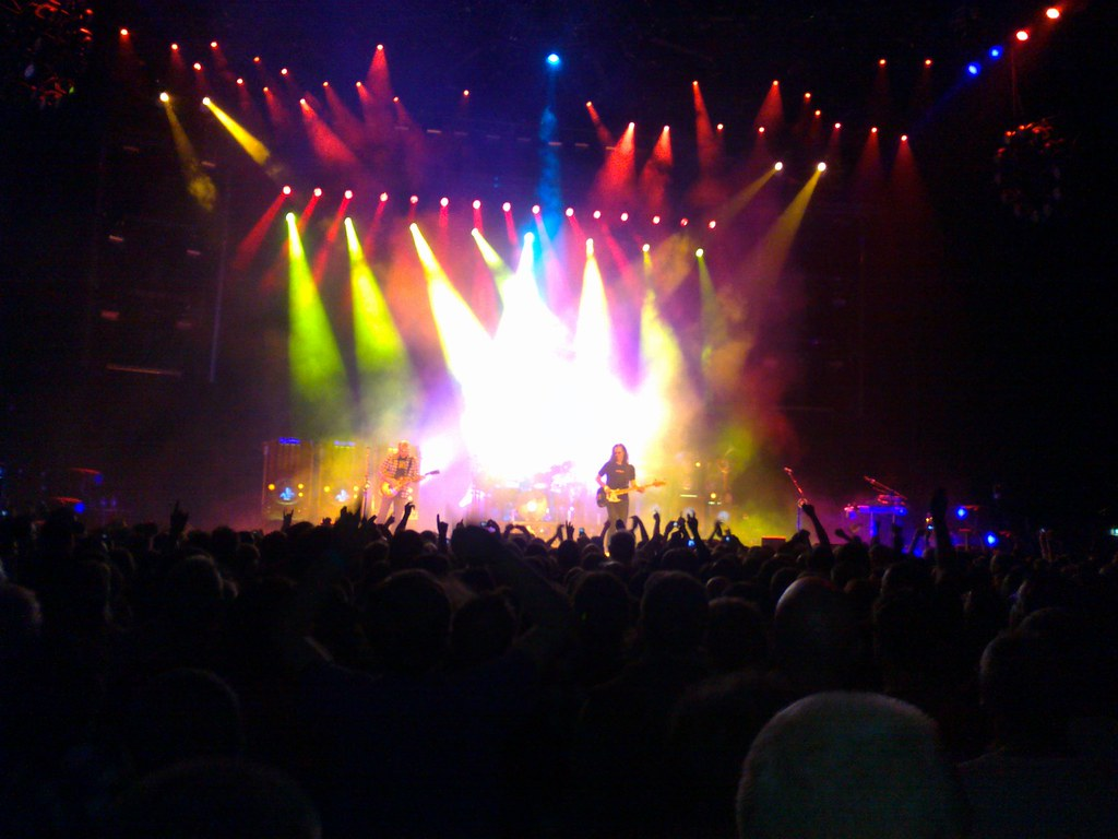 Rush at the O2, by MacDara on Flickr.