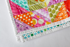 Warm Cool Quilt Along - Binding