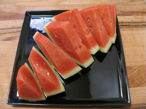 Lækker desert af... vandmelon!