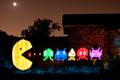 Pacman is QUITE the BULLY!!! (TxPilot) Tags: longexposure light moon lightpainting art night painting photography lights graffiti nikon long exposure paint bright arcade spaceinvaders games led lap pacman lighttrails movinglights lightgraffiti microcontroller arduino elwire lightpaint lightemittingdiode lightstrip electroluminescentwire d700 lightgraf lightartphotography arduinomega hl1606 programmablergbledlightstrip programmablelightstrip rgbledaddressable digitallightwand