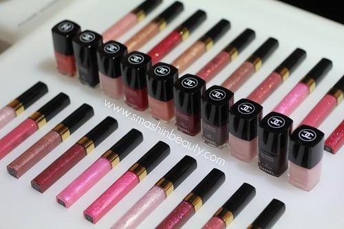 Chanel Nail Polish & Lipgloss