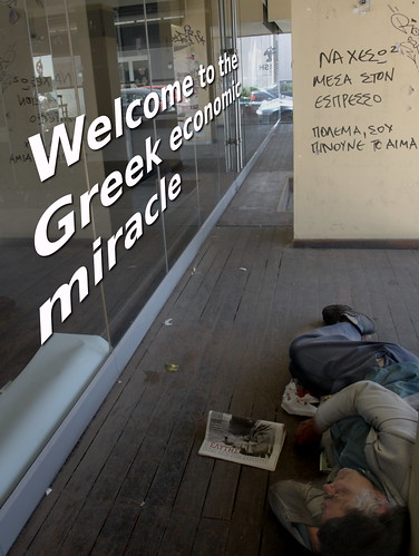 Welcome to the Greek economic miracle. by Teacher Dude's BBQ
