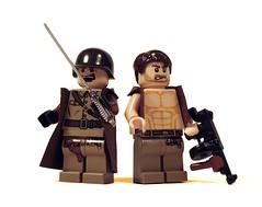 Soldiers of War (*Nobodycares*) Tags: trooper war gun tank lego wwii worldwarii ww2 soldiers guns dempsey vests thompson jackets worldwar2 uas trenchcoats sheaths sluban mmcb bricarms