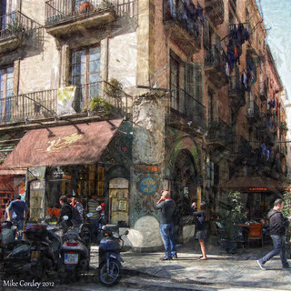 Street Scene - Barcelona