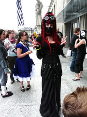 polymanga 2012 - Mistabys (mistabys) Tags: people japan dark cosplay gothic manga lausanne convention cybergoth 2012 cosplayers mistabys polymanga