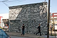 Ian Ross mural, San Francisco (chloe & ivan) Tags: sanfrancisco ca streetart murals dayofthedonut ianrossgallery