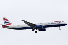 G-MEDN BA Airbus A321-231 at Heathrow 1 (Simon.Davison.Photography) Tags: london plane canon heathrow aircraft aviation flight airbus passenger ba britishairways 70200 heathrowairport 70200mm a321 airbusa321 a321231 airbusa321231 canon6d