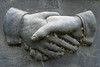 Hands (Bigadore) Tags: whitebronze whitebronzegravemarker zincmonument