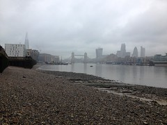 View upstream (Thames Discovery Programme) Tags: archaeology thames river community bermondsey rotherhithe thamesdiscoveryprogramme