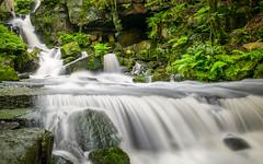 2014-06-03 Lumsdale-4900.jpg (Elf Call) Tags: england water river waterfall nikon rocks stream derbyshire sheffield falls bakewell 18105 nd8 d5300