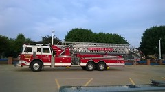 Truck 584 (mfpd24) Tags: tower aerial firetruck ladder bloomington firedepartment sutphen detroitdiesel apperatus marseillesil 8v92