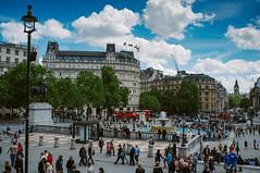 Trafalgar Square (Enzo Cositore Photography) Tags: street uk england london underground photography streetphotography enzo londra cositore