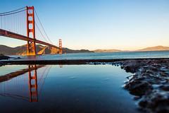 You and Your Sister (Thomas Hawk) Tags: california goldengatebridge sanfrancisco usa unitedstates unitedstatesofamerica bridge reflection fav10 fav25 fav50 fav100
