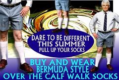 DareTo Wear  Walk socks Summer v 10.0 (MemoryCube5000) Tags: wearing wearingshorts walkshorts wellington walkingsockssummer walkers walksocks walking kiwi kneesocks kiwiana kneehighsocks ko nz newzealand newsocks nelson napier nzwalkshortsandwalksocks oldschool overthecalfsocks old retro rotorua gents golfsocks golf golffashion golfer golfcourse auckland abovethekneeshorts australia socks summer sock sydney sox pullupyoursocks bermudasocks bermudashorts bermuda brisbane bloke ebay longsocks longwalksocks legs 1980s 1970s 1981 1985 1980 1982 1983 1987 1984 1978 1986 1979 focus outdoor text advert