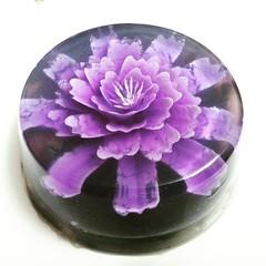 IMG_20160911_215700 Jelly Mooncake (Bakeling) Tags: agaragar purple jelly