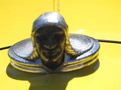 HoodArt 2 (bballchico) Tags: hoodornament ih internationalharvester 1936 pickuptruck yellow billmelissaforgey bigrockclassicduvall carshowhot rods carshow hotrods 206 washingtonstate