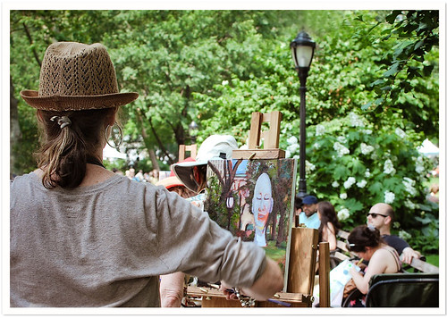 Artist in Hat